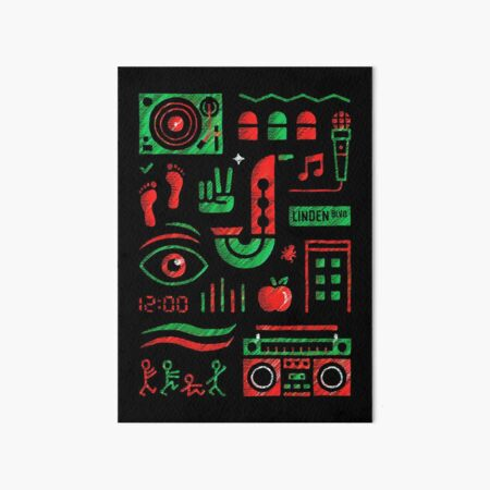 a tribe called quest Art Board Print