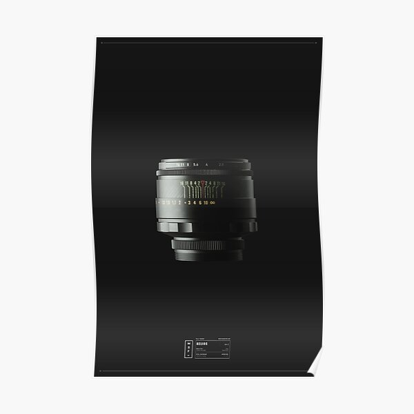 Fully Rigged - Helios 44-2 58mm F2 Poster