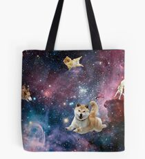 Galaxy Dogs Tote Bag