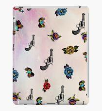 guns and roses  iPad Case/Skin
