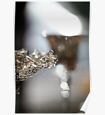Glass on Glass. 5D Bokeh  Poster