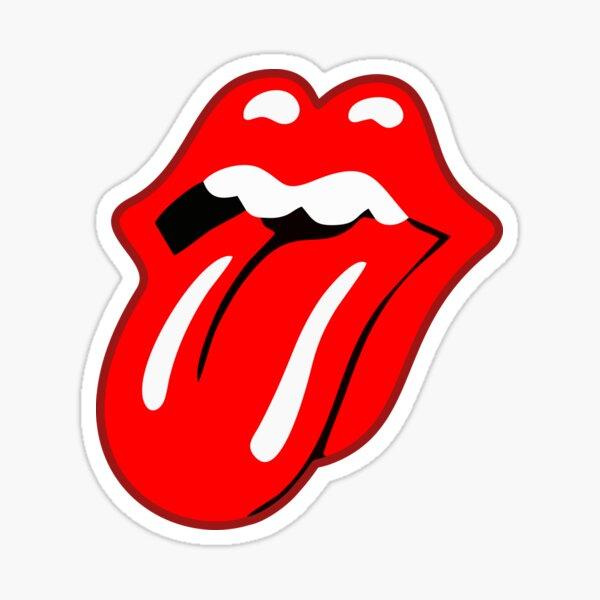 Red Tongue Sticker Sticker