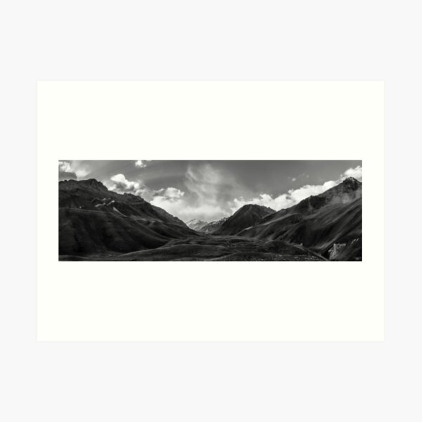 Tip of the Andes, Aconcagua Art Print