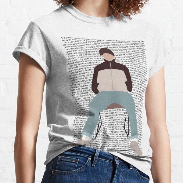 Louis Tomlinson solo las valientes paredes Camiseta clásica