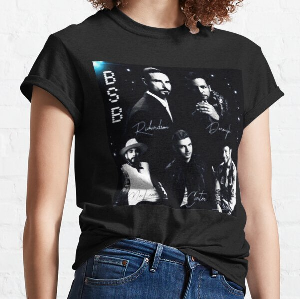 Backstreet Boys Shirt Women - Regalo exclusivo de Backstreet Boys para fanáticos, para hombres y mujeres, regalo para el día de Halloween, Acción de Gracias, Navidad Camiseta clásica