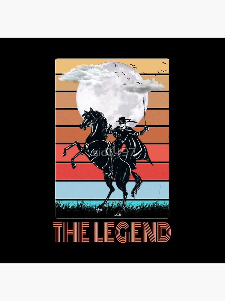 The legend Zorro by sid1497