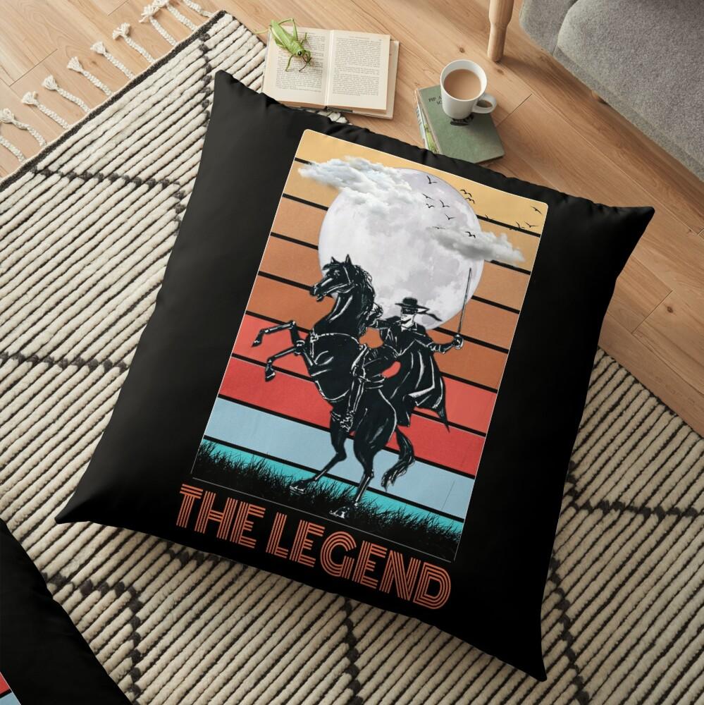 The legend Zorro Floor Pillow