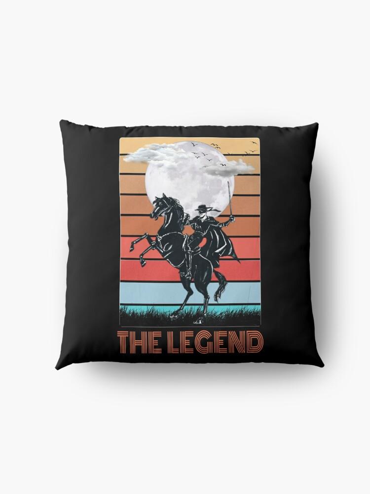 Alternate view of The legend Zorro Floor Pillow