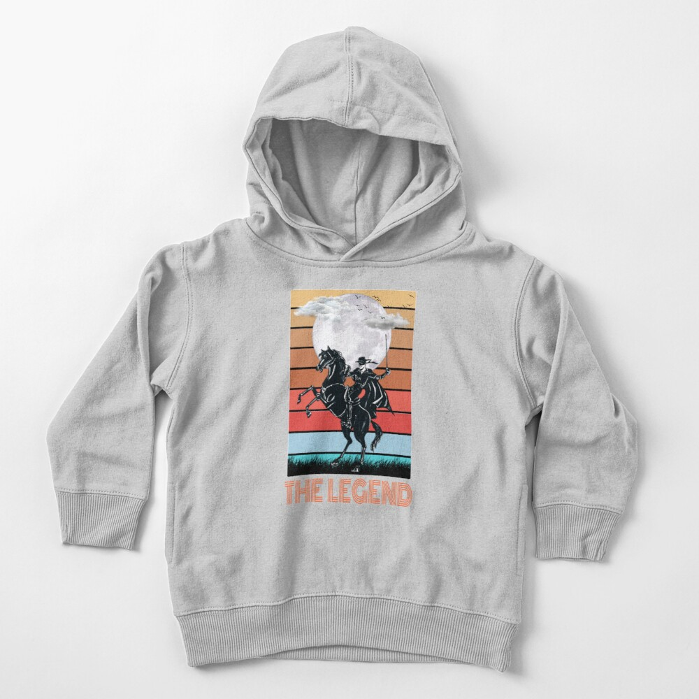 The legend Zorro Toddler Pullover Hoodie