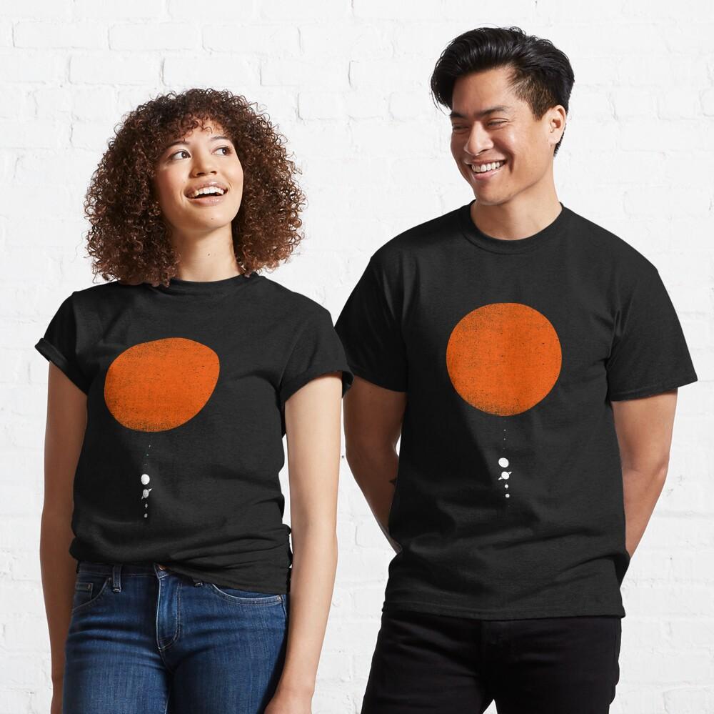 Minimal Solar System Classic T-Shirt
