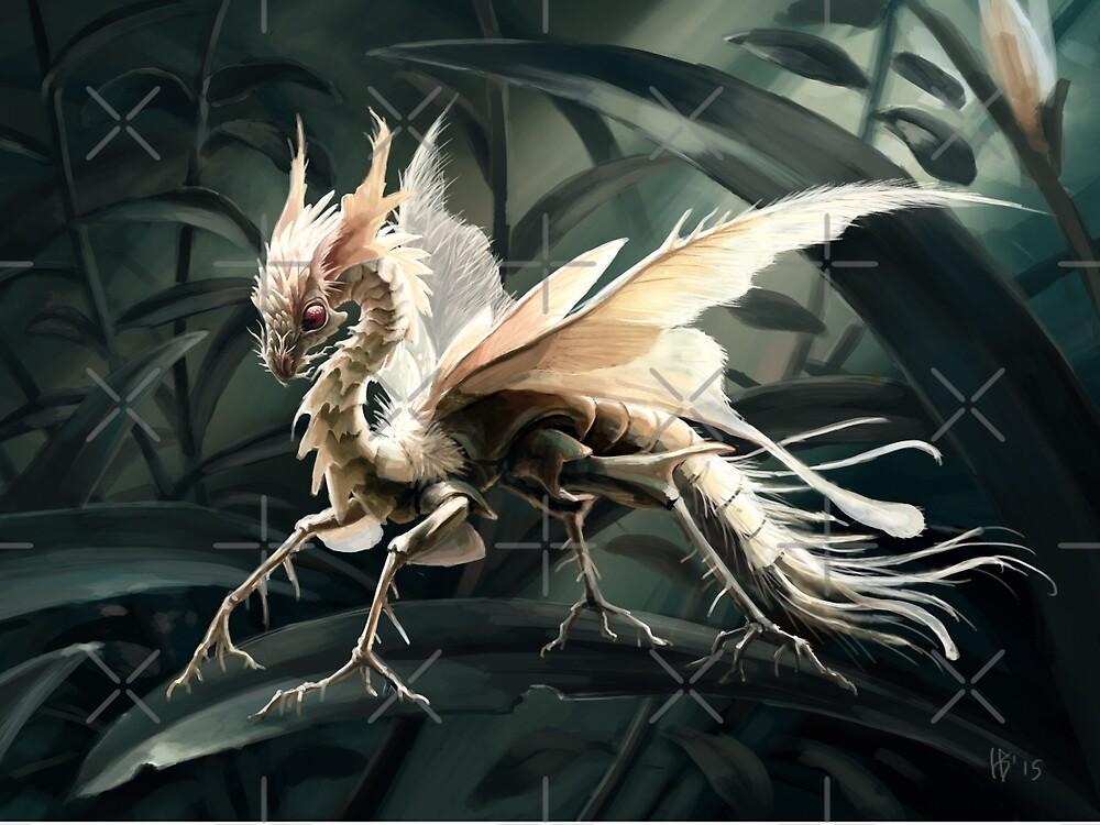 Insect dragon by Hannah Böving