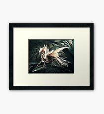 Insect dragon Framed Print