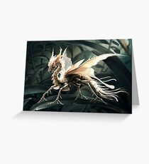 Insect dragon Greeting Card