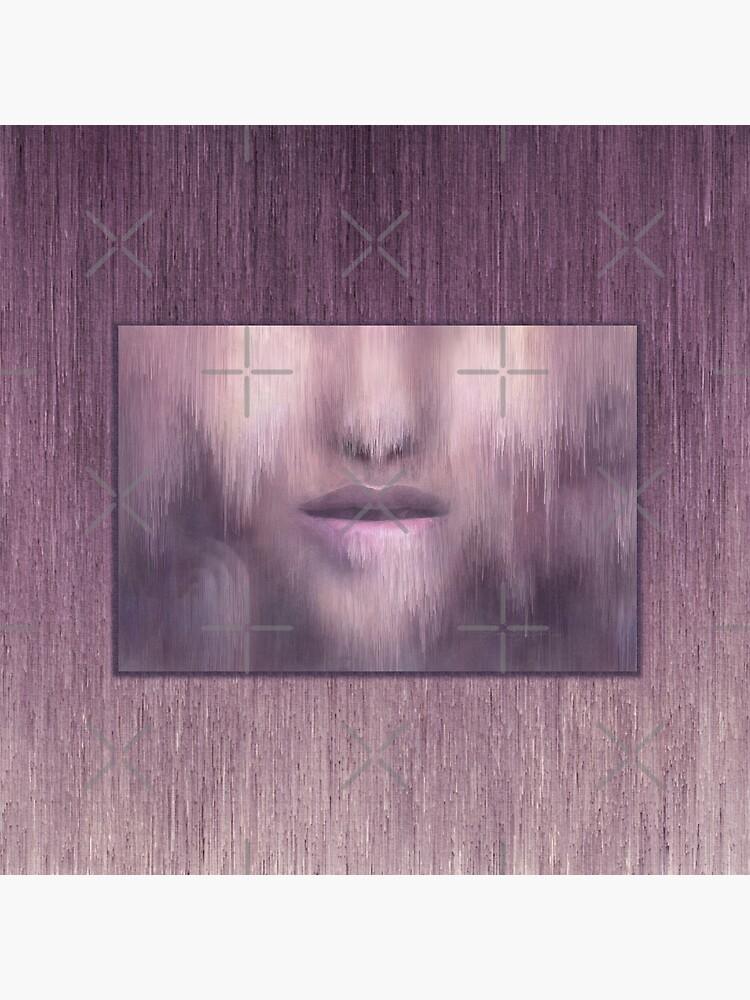 """Succumb"" (tears, sadness, giving up) painting - ""Smile"" Fine Art series by CaraSonrisa"