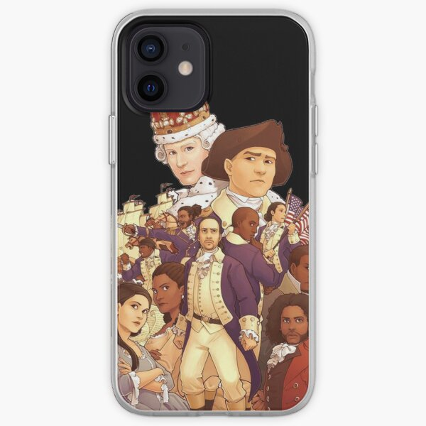 Hamiltion Group Photo iPhone Soft Case