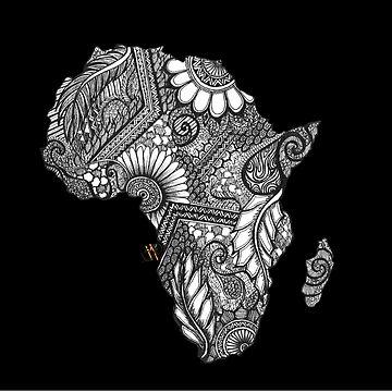Nitarudi Africa (Black)  by sheelSMD