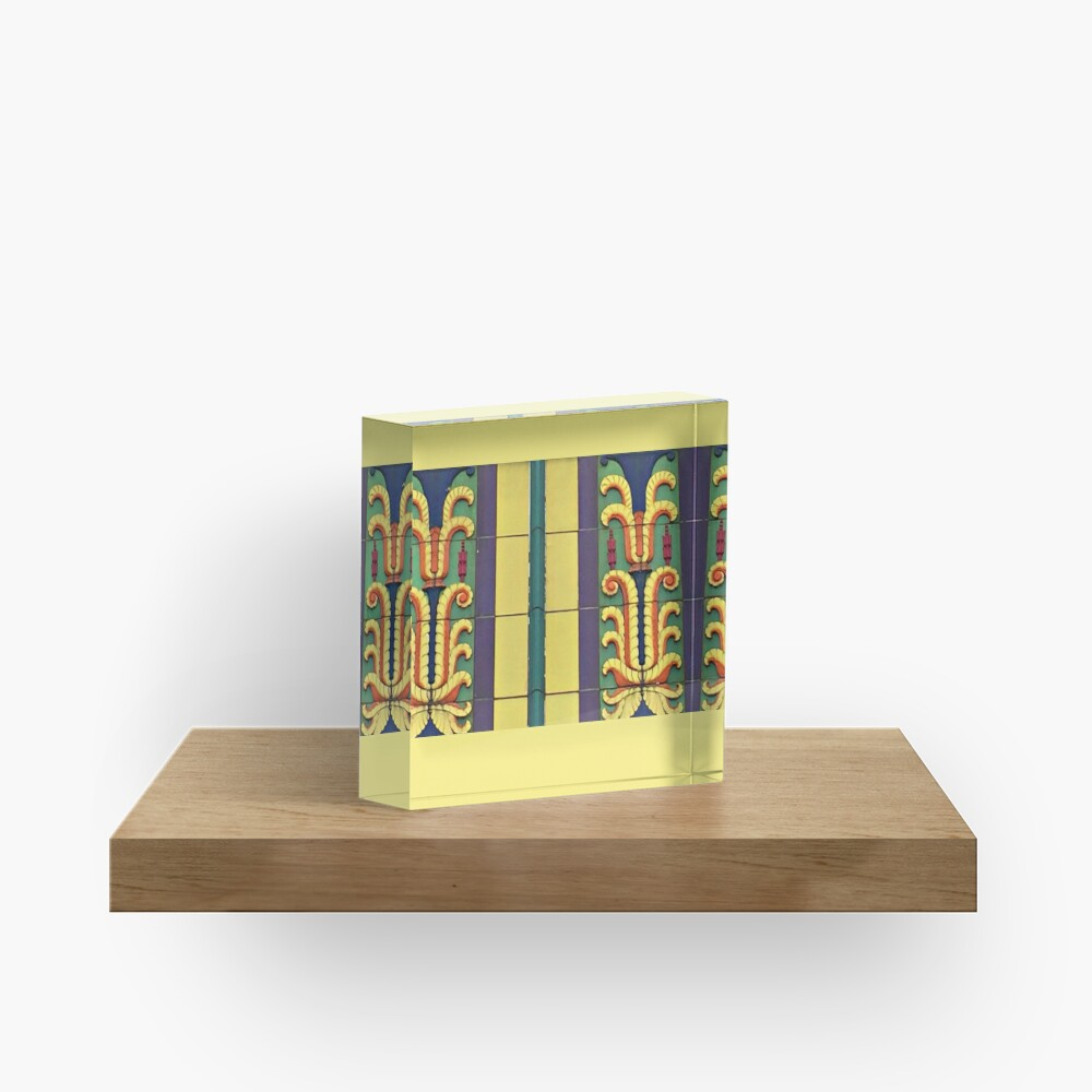 Art Deco Architecture-Lehigh Valley Dairy-Allentown PA Acrylic Block