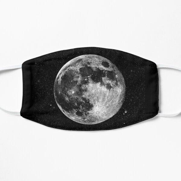 Full Moon Flat Mask