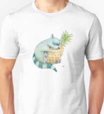 Raccoon & Pineapple T-Shirt