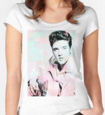 Elvis  Women's Fitted Scoop T-Shirt