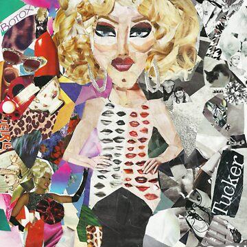 i wish i were sharon needles collage by lilpoundcake666