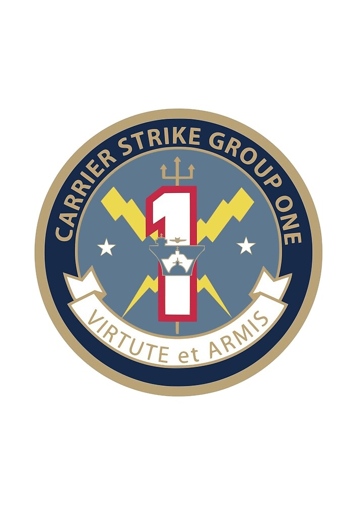 Carrier Strike Group One (US Navy) by wordwidesymbols