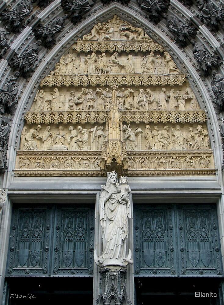 Kölner Dom-Cologne Cathedral by Ellanita