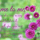 """""""Come to me...and I will give you rest..."""" by Donna Keevers Driver"""