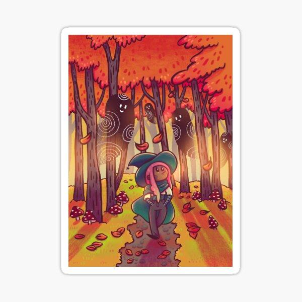 Autumn Stroll Sticker