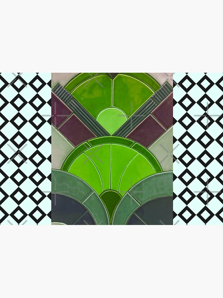 Art Deco tile-Civic Theatre-Allentown PA-19th Street Theater by Matlgirl