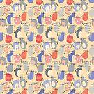 CARTOON PATTERN-mice von Pattern-Color