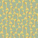 CARTOON PATTERN-giraffe von Pattern-Color