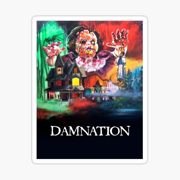 Dante Tomaselli's DAMNATION Sticker