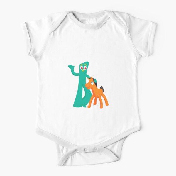 Gumby Pokey  Short Sleeve Baby One-Piece