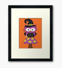 Witchy Owl  Framed Print