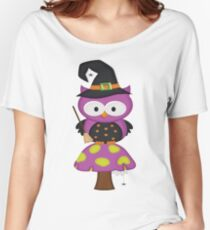 Witchy Owl  Women's Relaxed Fit T-Shirt