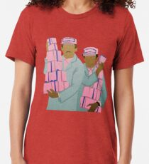 Zero and Gustave Tri-blend T-Shirt