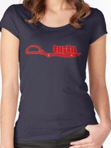 Scissor Blade Women's Fitted Scoop T-Shirt