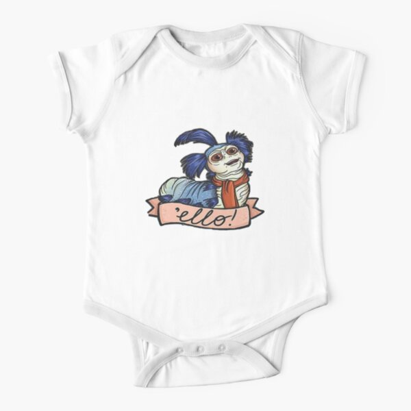 The Worm Ello Labyrinth Short Sleeve Baby One-Piece