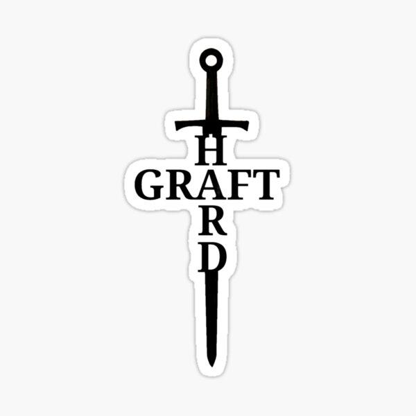 Hard Graft Sticker