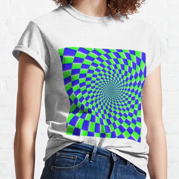 iLLusion, Color Motion Optical Illusion Classic T-Shirt