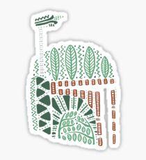 Tribal Bounty Hunter Sticker