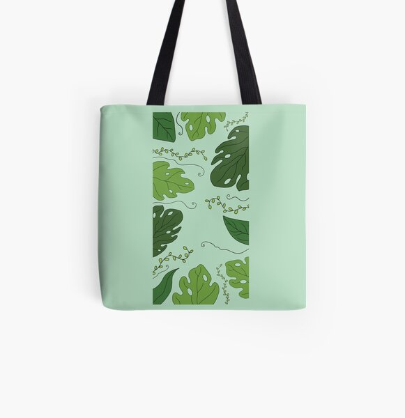 Floral Phone Case All Over Print Tote Bag