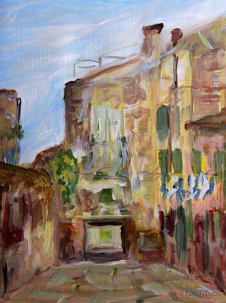 Low Entry Venice Italy  by TerrillWelch