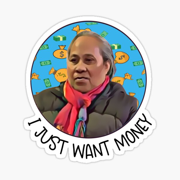 Funny 90 Day Fiance Fan Gift Asuelu's Mom Money Sticker