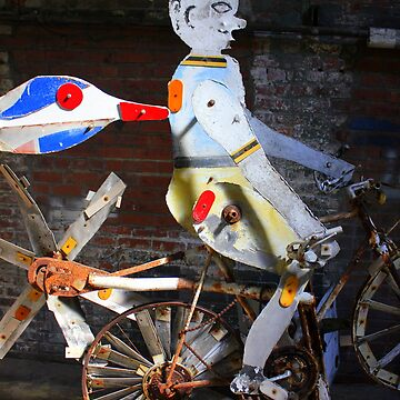 Bicycle Man by CeciliaCarr