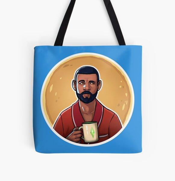 Bob All Over Print Tote Bag