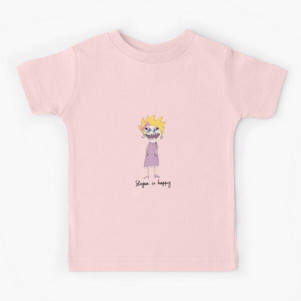 Lujza is happy Kids T-Shirt