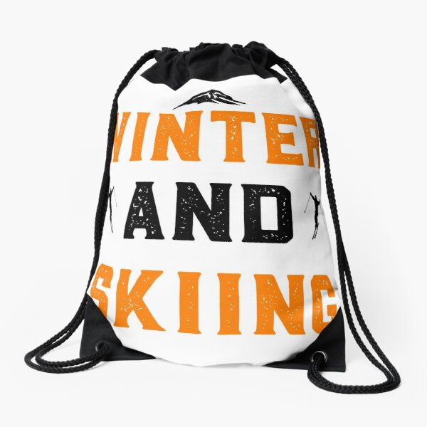 Winter t-shirts Drawstring Bag
