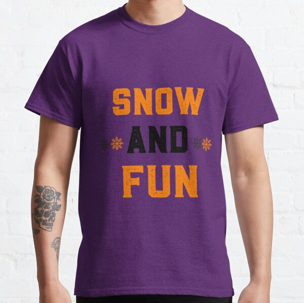 Snow winter t-shirts Classic T-Shirt